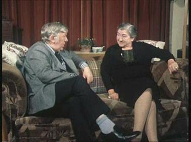 Ciarán Mac Mathúna and Máire Ní Scolaí