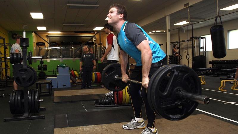 Gordon D'Arcy mid-lift