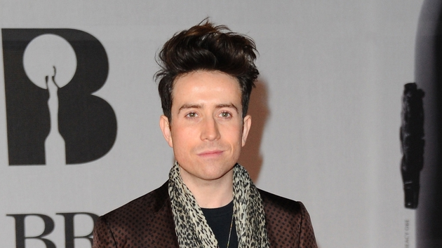 Nick Grimshaw was rushed to hospital after swallowing a shard of glass
