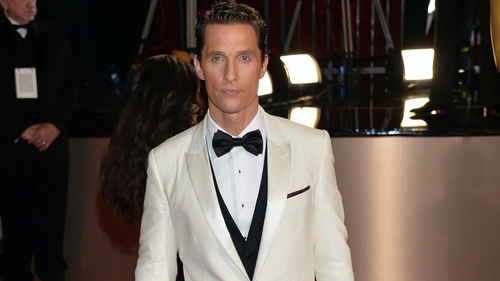 "McConaughey ""drove"" Dallas Buyers Club, says director."