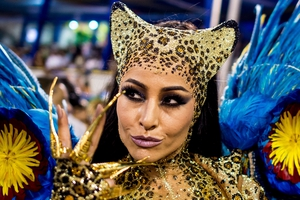 Sabrina Sato, Queen of Percussion at the Vila Isabel samba school