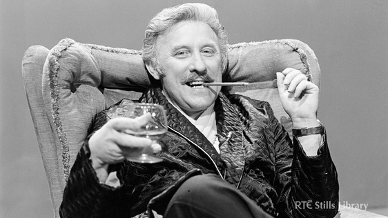 Joe Lynch in 'Living with Lynch', 1977. © RTÉ Archives 2186/047
