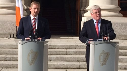 Eamon Gilmore said Ireland was now regarded as one of Europe's success stories