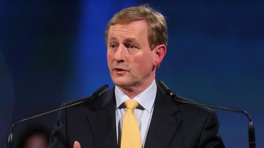 An Taoiseach, Enda kenny.