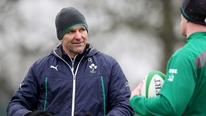 Irish coach John Plumtree says that Jonathan Sexton is progressing well ahead of the Italy game