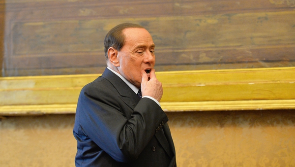 Silvio Berlusconi wanted to attend the European Popular Party conference in Dublin on 6-7 March