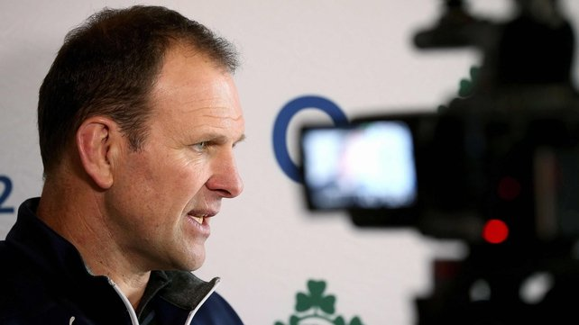 John Plumtree is full of praise for the Italy pack