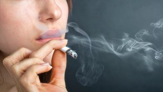 More than one-in-ten smoke throughout pregnancy