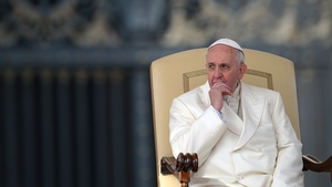 The Pope said 'no-one else has done more' than the church