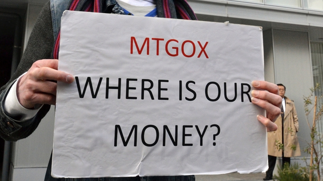 Mt Gox collapsed after losing around 850,000 bitcoins due to hacking