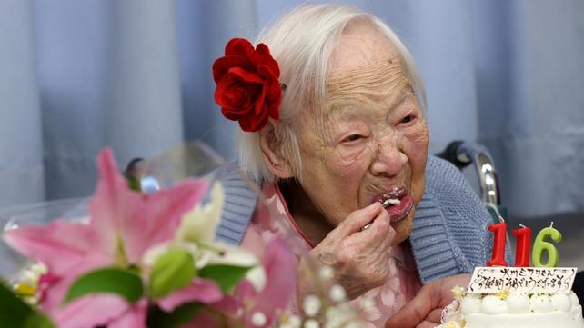 Misao Okawa was born 5 March 1898