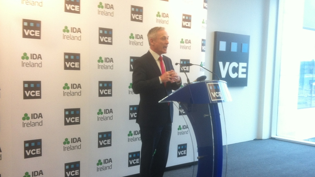 Richard Bruton said his department has targeted cloud computing as part of the Action Plan for Jobs