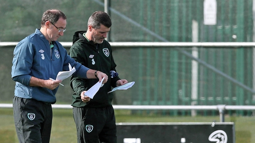 Roy Keane insists he has no plan to leave Martin O'Neill's backroom team in favour of Louis van Gaal's