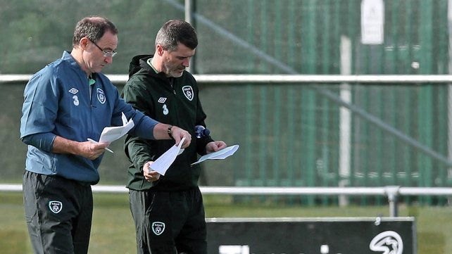 Martin O'Neill and Roy Keane will continue to work together within the Ireland management setup