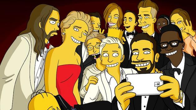 That Oscars selfie. Picture: Matt Groening