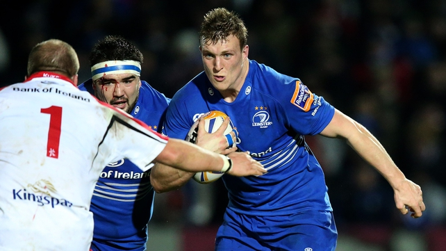 Jack O'Connell in PRO12 action against Ulster last year