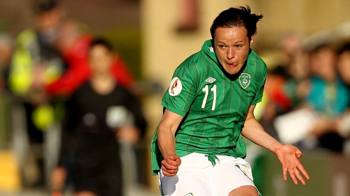 Aine O'Gorman put Ireland in front