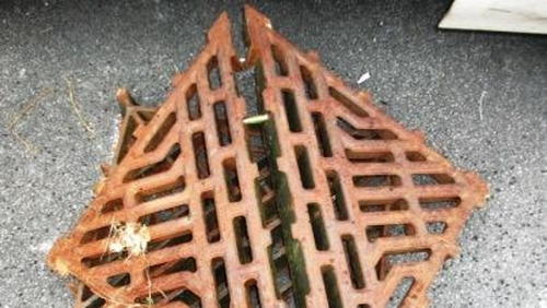 The removal of manhole covers is potentially lethal to road users