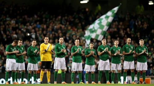 Ireland will finish the season with a two-game tour to the USA