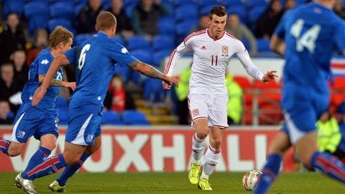 Gareth Bale had a hand in all three goals for Wales