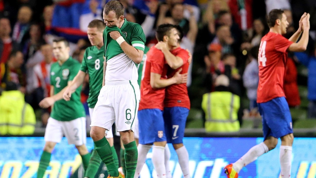 Roy Keane said Ireland's loss to Serbia had been a reminder of how hard it was to lose a game
