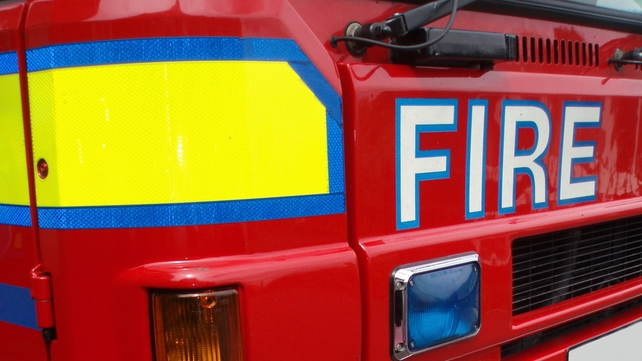 Around 12 units of the fire services attended the scene of the blaze at the building on Canal Road