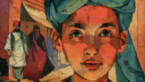 The Breadwinner (book cover pictured) - Tells the story of Parvana, a young girl in Afghanistan who must disguise herself as a boy to support her family
