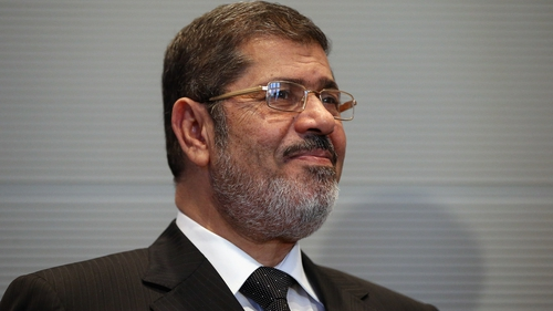 An Egyptian court has sentenced a son of deposed Islamist president Mohamed Mursi and one of his friends to a year in prison