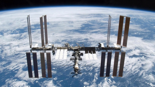 Reid Wiseman has been on the ISS since late last month