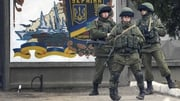 Tensions between Russia and Ukraine have been high in the Crimea region