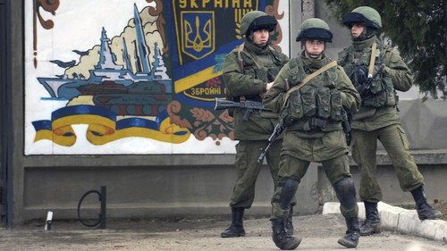 Tensions between Russia and Ukraine are fraught following Russian activity in the Crimea region