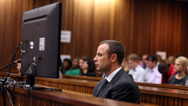 Oscar Pistorius faces three firearms charges as well as a murder charge (Pic: EPA)