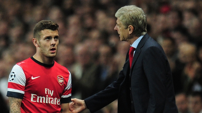 Arsene Wenger said he did not anticipate Jack Wilshere being unavailable for this summer's World Cup