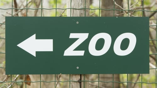 The zoo urged local residents to visit or donate funds