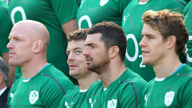A lot of attention on Ireland's number 13 this weekend