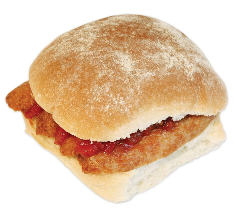 Superquinn Sausage bap at Centra