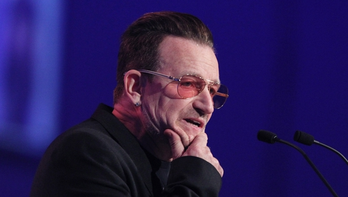 Bono has admitted the ONE organisation failed to protect some employees at its Johannesburg office in South Africa