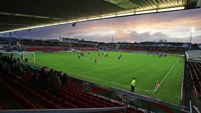 Cork City host Sligo Rovers at Turner's Cross