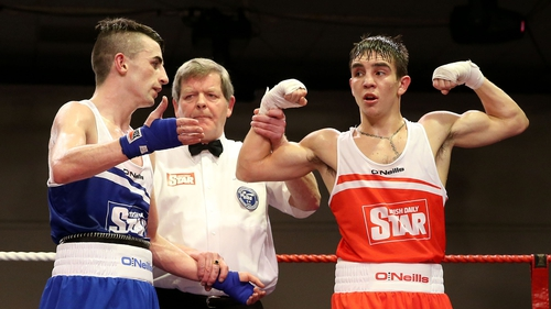 Michael Conlan takes the decision against Tyrone McCullagh