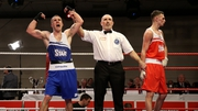 David Oliver Joyce is working his way towards the APB lightweight final