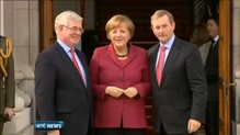 German Chancellor describes bailout as a tremendous success story