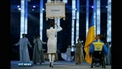 Ukrainian team stage symbolic boycott of opening ceremony at Paralympic Games