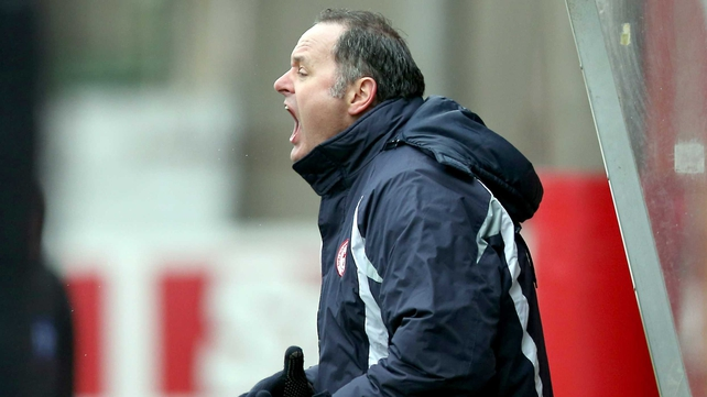 Bray manager Alan Mathews