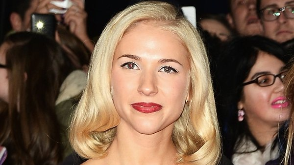 Maddy Hill pictured at the recent National Television Awards in the UK