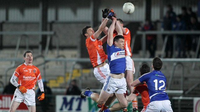 Laois could not match Armagh at the Athletic Grounds