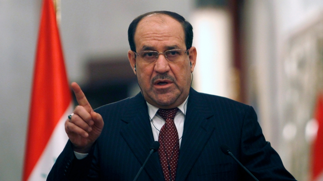 Mr Maliki said that Iraq is being attacked by the Gulf powers both 'through Syria and in a direct way'