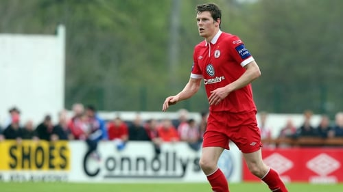 Evan McMillan scored against his old club for Sligo