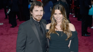 Christian Bale and wife Sibi