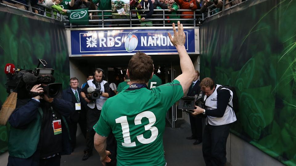Brian O'Driscoll bid a fairytale farewell in his last home international
