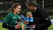 Ireland women's captain Fiona Coghlan was pleased with her side's win over Italy